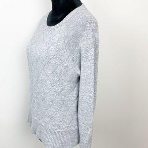 Banana Republic Sweaters - Banana Republic Sweater Grey Quilter Knit